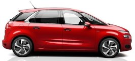 Citroen C4 SpaceTourer vehicle information