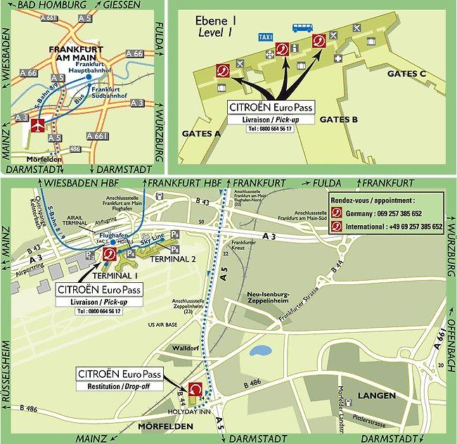 Mapoffrankfurtgermanyairport Images  Frompo  1