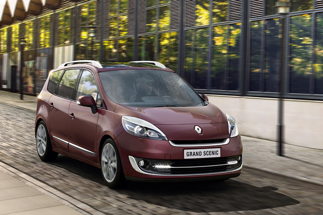 Renault Grand Scenic Vehicle Information - Renault Leasing in Europe